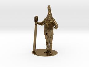 Vermin Supreme Miniature in Raw Bronze: 1:60.96