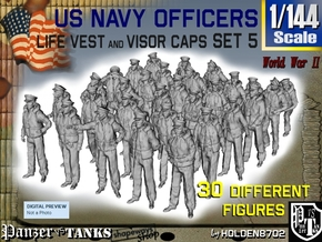 1-144 USN Officers KAPOK Set5 in Frosted Ultra Detail
