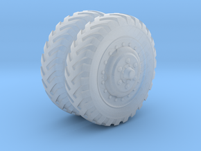 "1/48 US halftrack Front wheel ""Firestone"" in Frosted Ultra Detail"