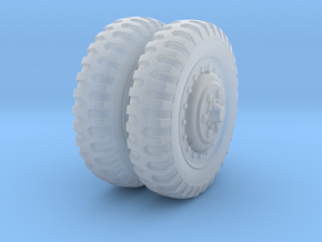 1/48 US Halftrack front wheel tyre NDT in Smoothest Fine Detail Plastic