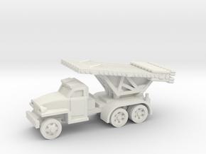katyusha rocket artillery in White Natural Versatile Plastic