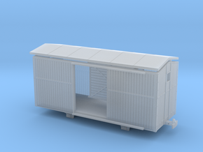 1:76 / 009 TPT guards van (fourgon) in Smoothest Fine Detail Plastic