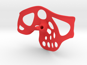"Stingray right 3.6"" width .25"" shaft in Red Processed Versatile Plastic"