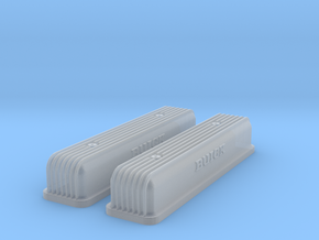1/43 Buick Script Nailhead Valve Covers in Smoothest Fine Detail Plastic