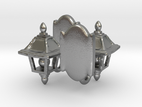 Lamp Sconce Studs in Natural Silver