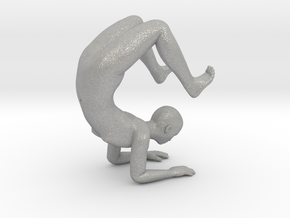 Yoga Scorpion Pose Phone Stand - 1.5mm Thickness in Aluminum