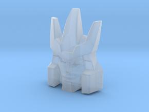 Galvatron Smirking Face, Helmet Sized (Titans Retu in Smooth Fine Detail Plastic