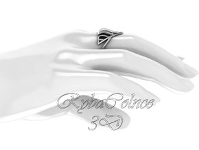 Ring The Mad Max / size 10GK 5US ( 16.1 mm) in Polished Silver