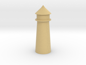 Lighthouse Pastel Orange in Full Color Sandstone