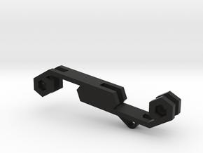 Key Holder 6key in Black Natural Versatile Plastic