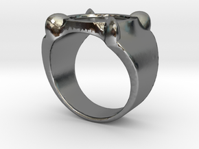 Adrien's Ring (Size 5) (More sizes in description) in Polished Silver: 5 / 49