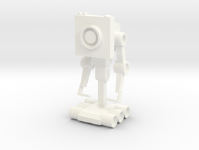 Butter Robot in White Processed Versatile Plastic