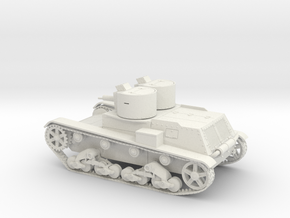 VBP Polish light tank 7TP 1938 1:48 28mm warga in White Natural Versatile Plastic