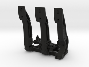 Racing Pedal Box Type 1 - 1/10 in Black Natural Versatile Plastic