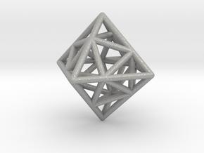 Icosa-Octahedron in Aluminum