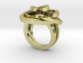 Ring Love is in the Air Medium (from $16) in 18k Gold Plated Brass: 7.25 / 54.625