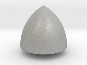 Revolved Reuleaux Triangle in Raw Aluminum