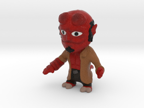 Hellboy without base in Full Color Sandstone