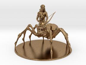 Drider Miniature in Natural Brass: 1:60.96