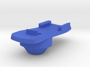 Garmin Stem cap Mount H5D5 in Blue Processed Versatile Plastic