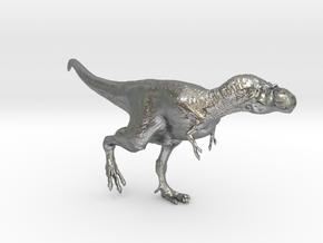 Gorgosaurus (Small/Medium size) in Natural Silver: Small