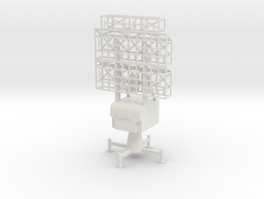 1/72 Scale German Limber Freya Radar in White Strong & Flexible