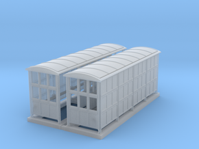 British N Gauge (1/148) Medium Platform Shelter Cl in Frosted Ultra Detail