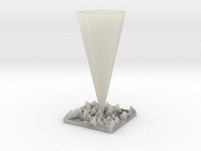 Vase in Transparent Acrylic