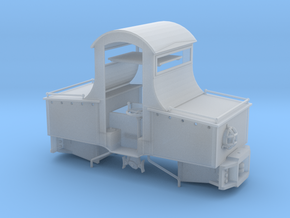 1:32 Battery Electric Locomotive with Cab in Smooth Fine Detail Plastic