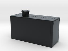 Virginia & Truckee Reno Oil Tank  in Black Hi-Def Acrylate
