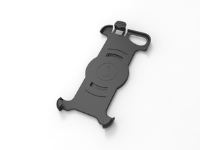 Holder for iPhone 6/6s/7 in Garmin Carkit in Black Strong & Flexible