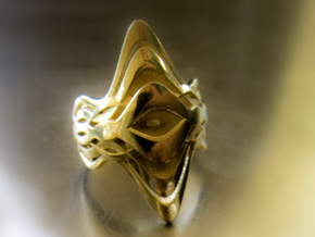 Sono.A RIng in Polished Brass