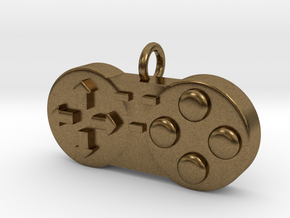 Controller Charm in Natural Bronze