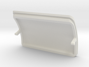 GND CONTROL PORT COVER in White Natural Versatile Plastic