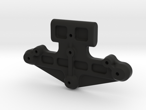 058003-01 ORV H1 Front Bumper Mount in Black Natural Versatile Plastic