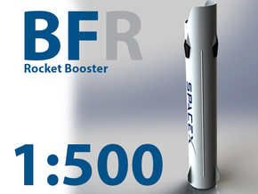 Big Freaking Rocket! Booster Interlocks w/ ITS in White Natural Versatile Plastic