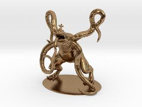 Froghemoth Miniature in Natural Brass: 1:60.96