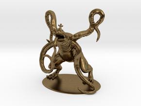 Froghemoth Miniature in Natural Bronze: 1:60.96