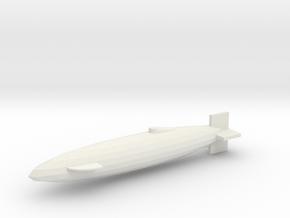 Italian Midget sub in White Natural Versatile Plastic