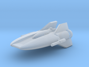 A-Wing Mod in Smooth Fine Detail Plastic