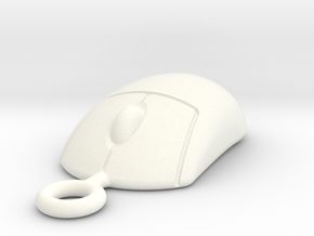 Mouse 1505161043 in White Processed Versatile Plastic