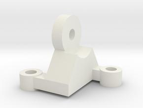 Maxbotix XL-MaxSonar-EZ Ultrasonic Sensor Mount in White Natural Versatile Plastic