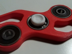EDC Corner Spinner V1 in White Strong & Flexible