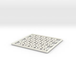 Energy Counters in White Natural Versatile Plastic