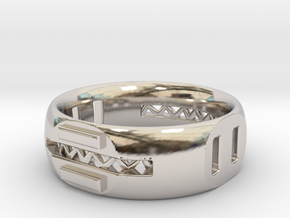 Supports in Rhodium Plated Brass