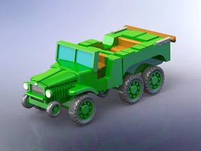 French Laffly W15T Tractor 1/285 in Smooth Fine Detail Plastic