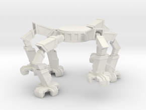 Spider Leg Platform in White Natural Versatile Plastic