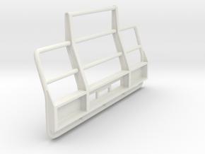 Superliner-bull-bar-182mm-width in White Natural Versatile Plastic