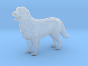 1/[24, 35] Golden Retriever Scale Model for Dioram in Smooth Fine Detail Plastic: 1:24