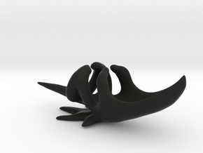 Clow in Black Natural Versatile Plastic